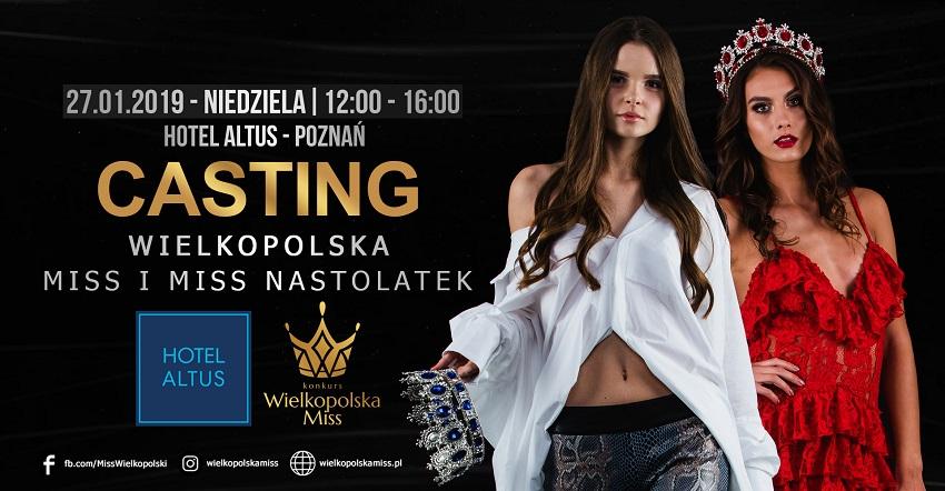 casting miss wielkopolski miss nastolatek - Materiały prasowe