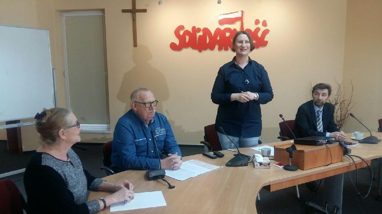 Solidarność i ZNP wspólny protest  - Magdalena Konieczna - Radio Poznań
