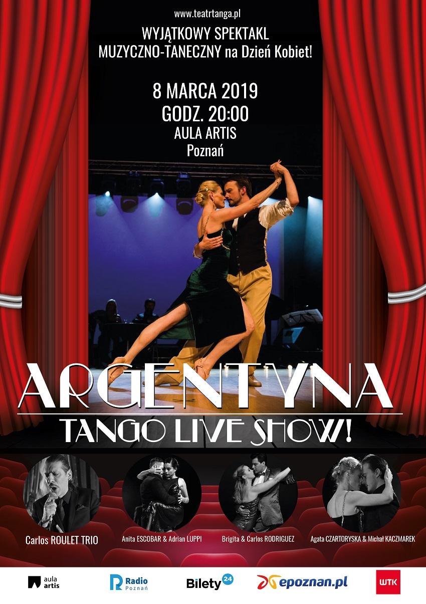 argentyna tango plakat - Materiały prasowe
