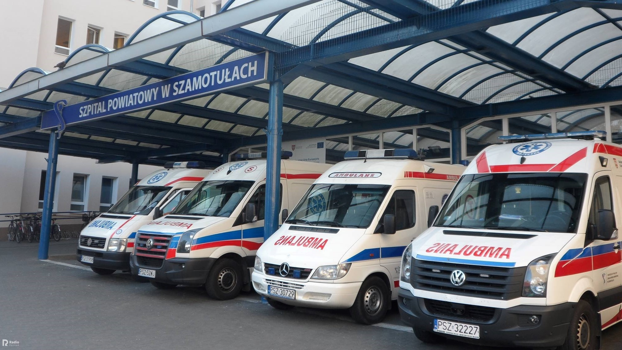 szamotuły szpital karetki - FB: Szpital Powiatowy w Szamotułach