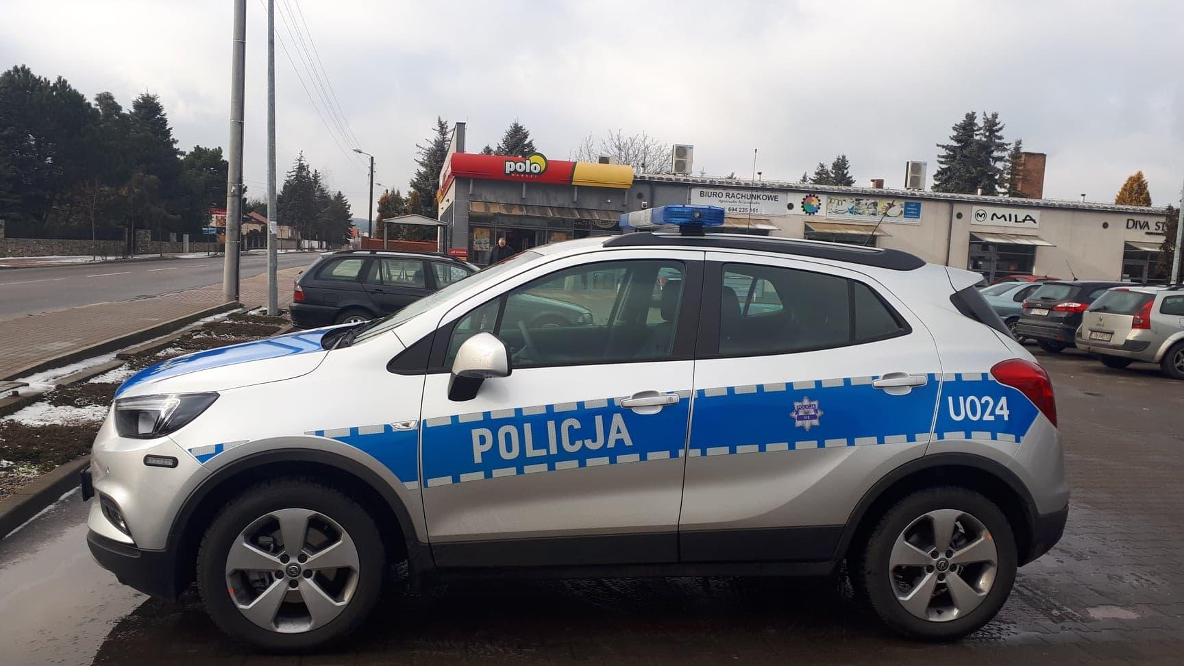 nożownik Polo radiowóz policja - Łukasz Kasprowicz - Radio Poznań