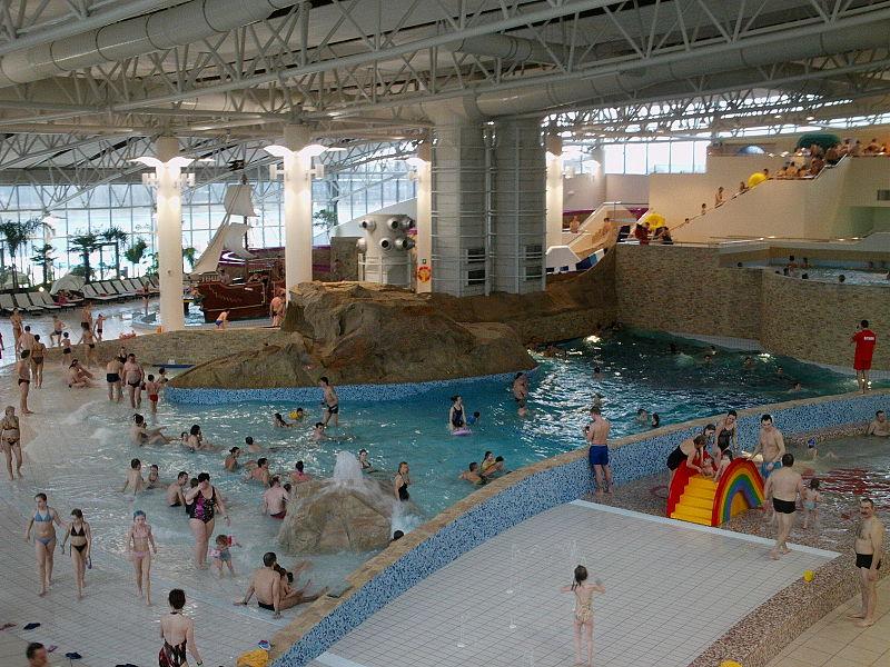 Termy Maltańskie basen  - Klapi/Wikimedia Commons