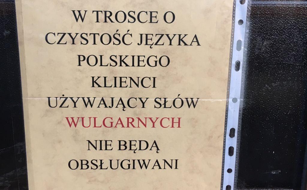 leszno przekleństwa sklep informacja - Jacek Marciniak