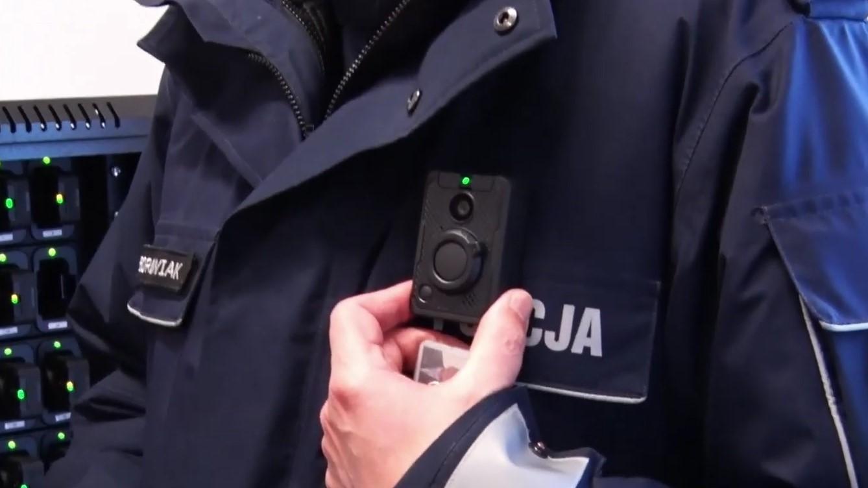 kamera policja borowiak - Leon Bielewicz