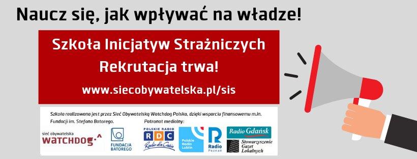 Szkoła Inicjatyw Strażniczych_obrazek - Materiały prasowe