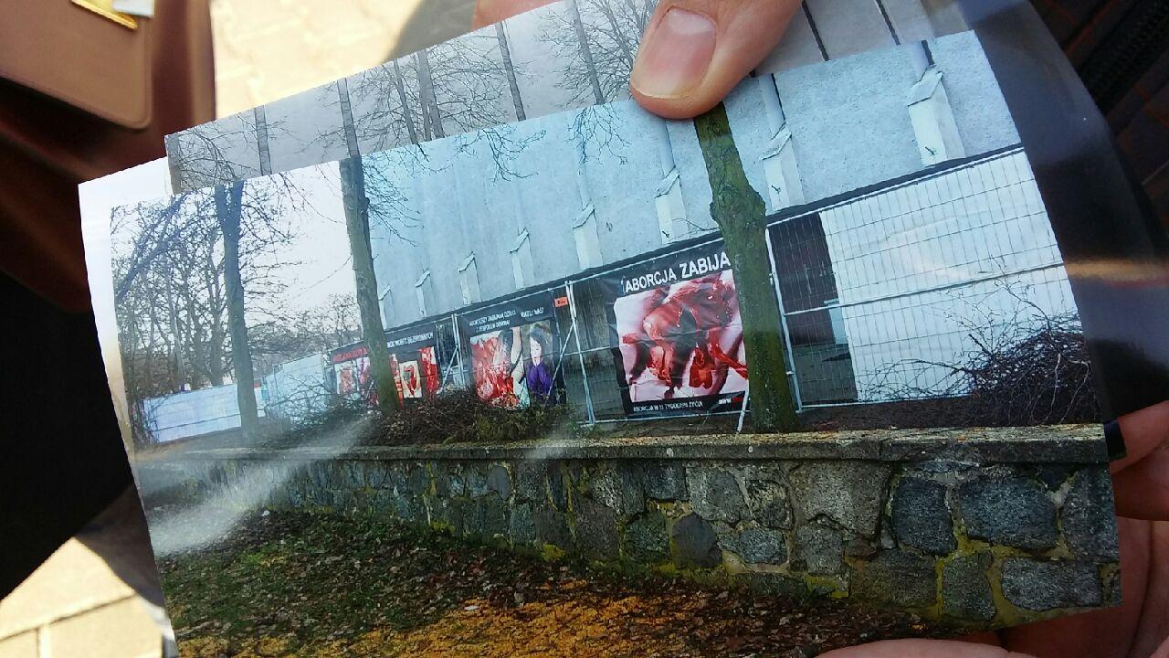 plakat aborcja wystawa poznań - Magdalena Konieczna