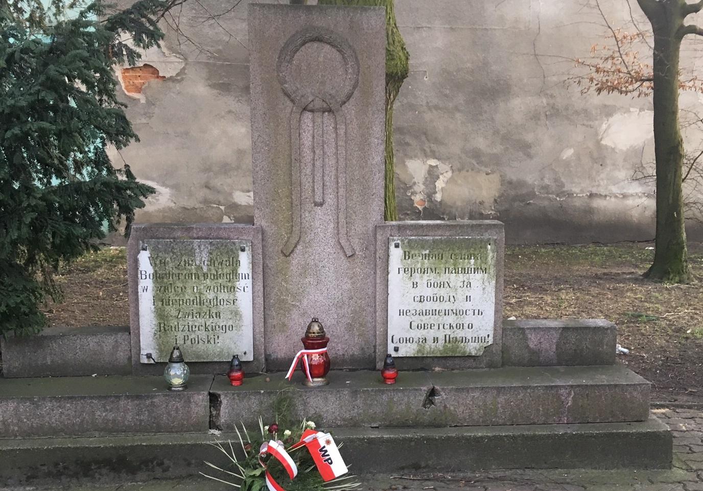 pomnik armia czerwona leszno - Jacek Marciniak