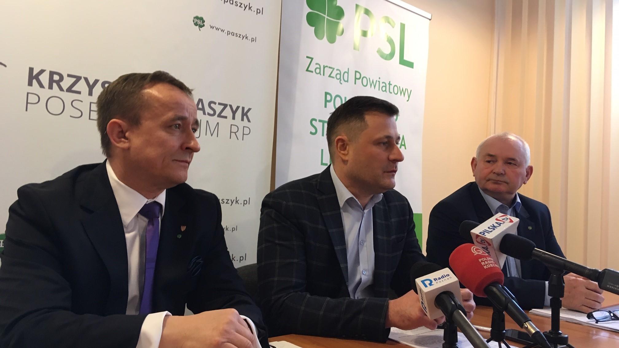 krzysztof paszyk psl piła - Przemysław Stochaj