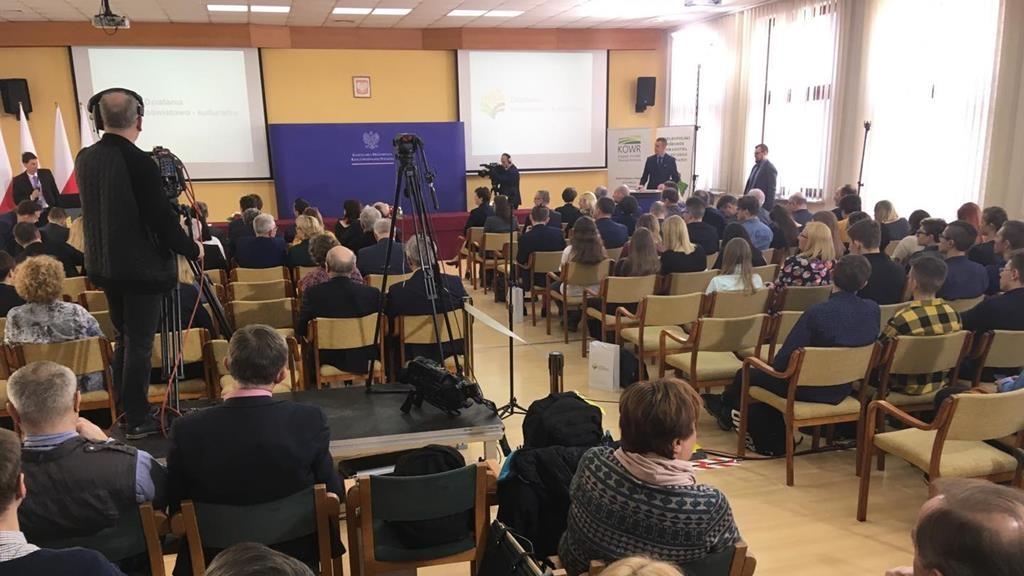konferencja kancelaria prezydenta sielinko wsie wieś - Jacek Butlewski