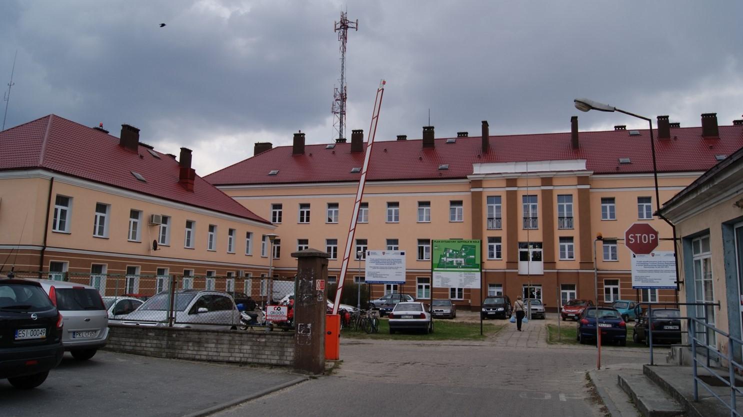 szpital powiatowy w kole - www.kolo.pl