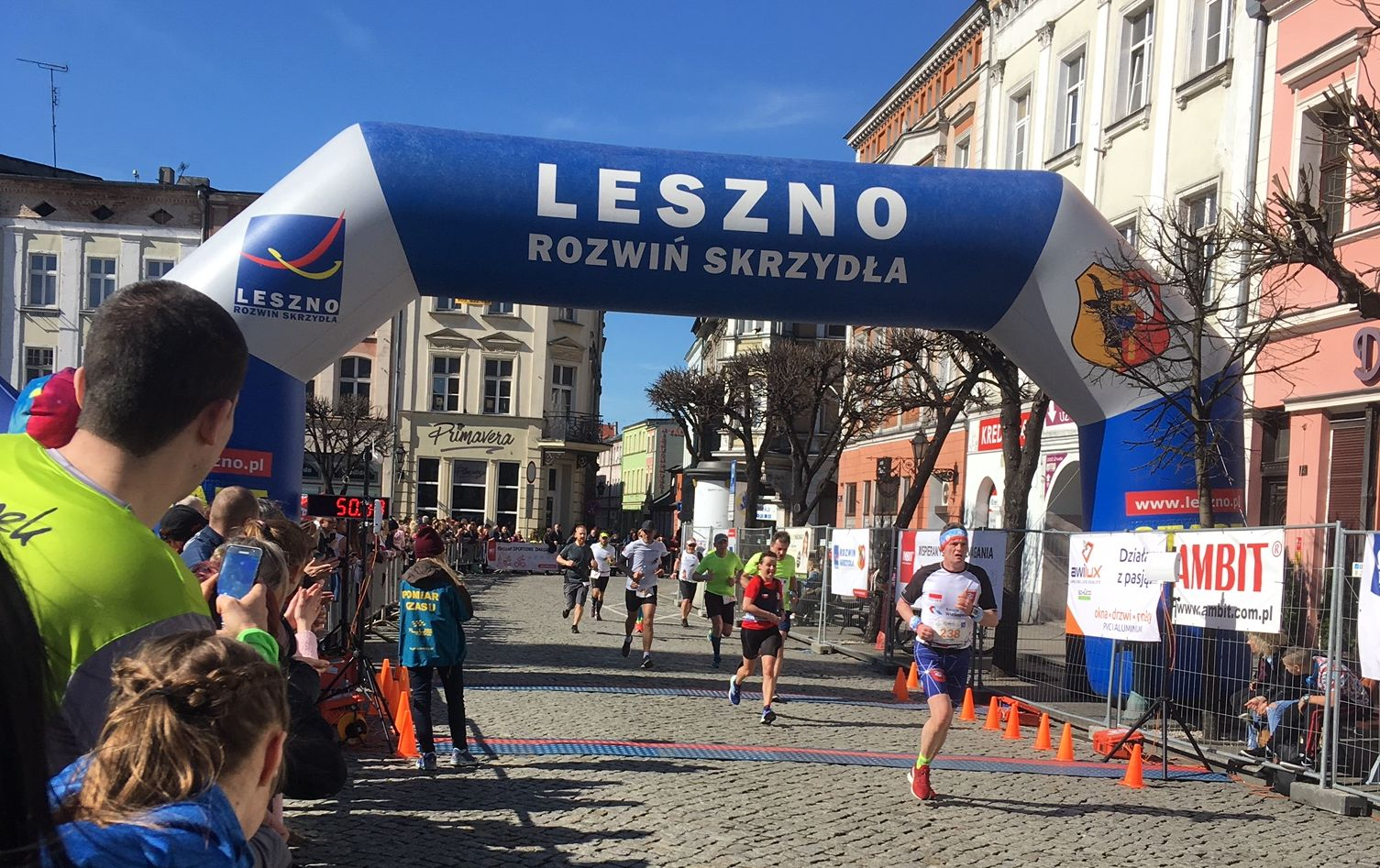 leszno półmaraton - Jacek Marciniak