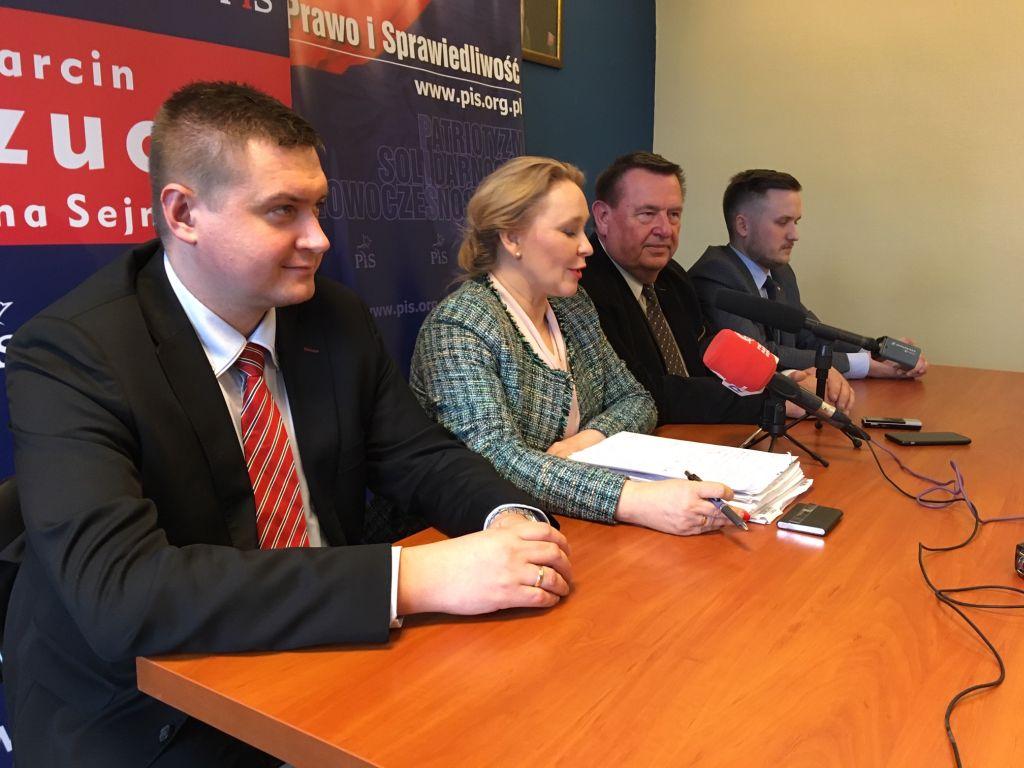marcin porzucek poseł konferencja - Przemysław Stochaj