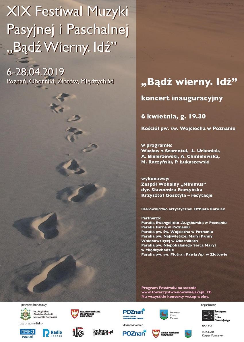 plakat pasyjny 2019 inauguracyjny - Materiały prasowe