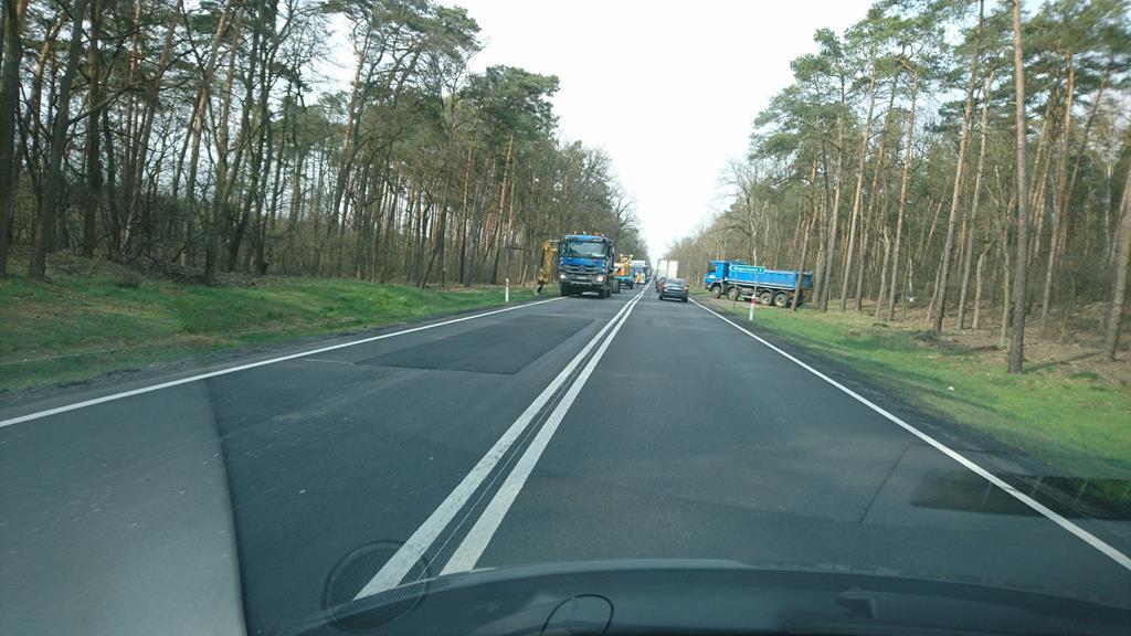 droga dk 11 łatanie dziur - Mikołaj
