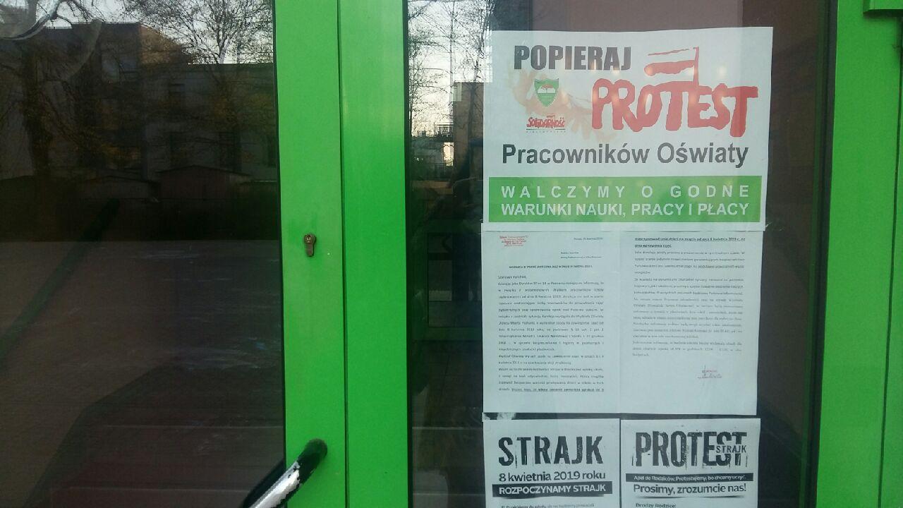 strajk nauczycieli poznań  - Magda Konieczna
