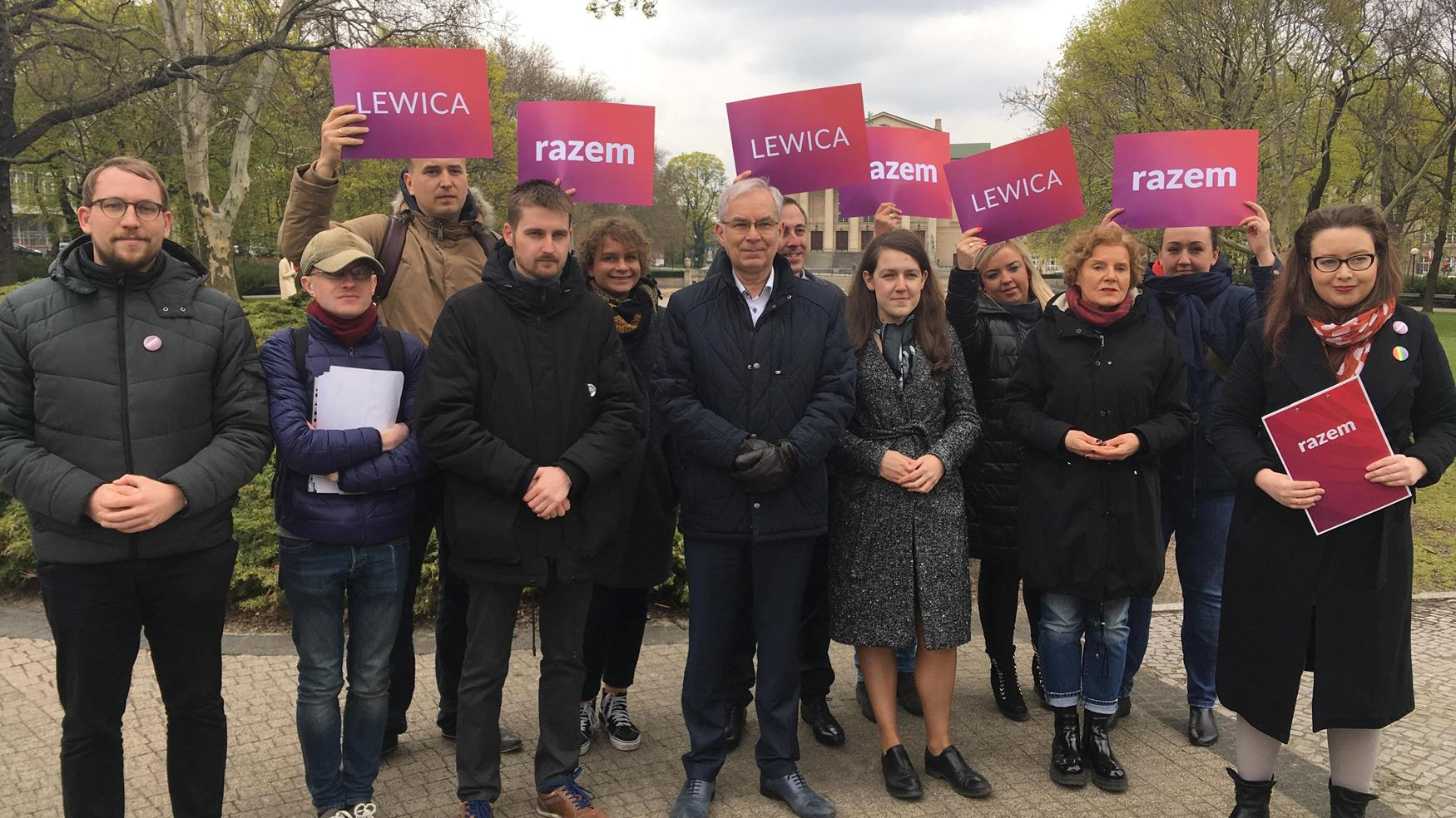 lewica razem parlament europejski - Jacek Butlewski
