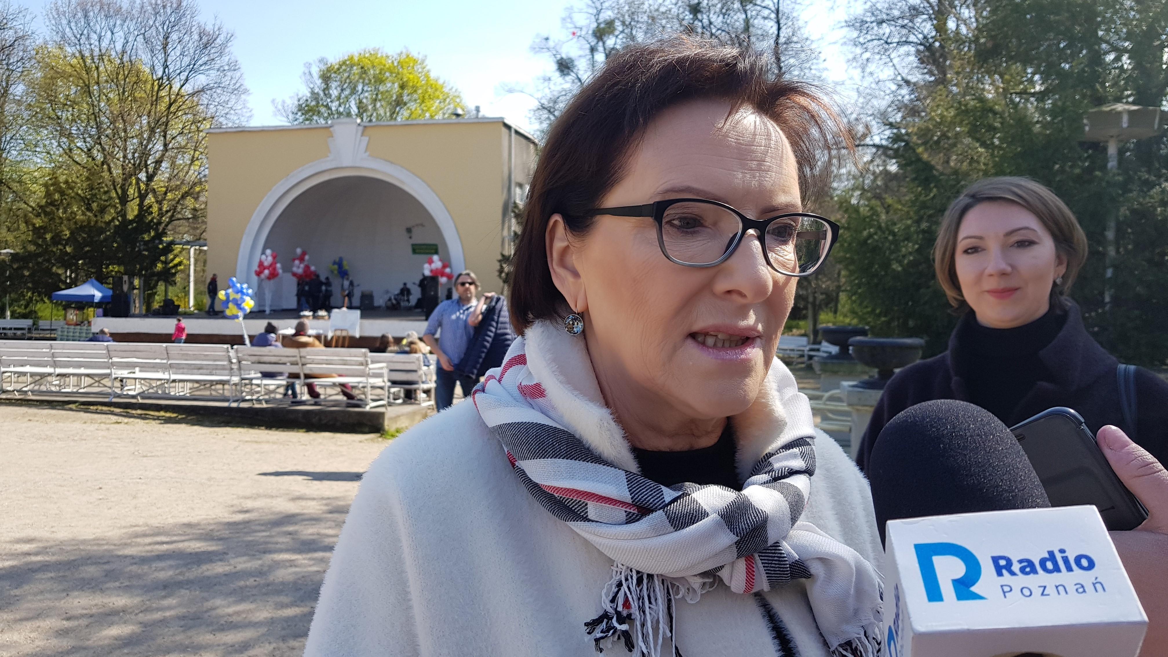 Ewa Kopacz park willsona - Hubert Jach
