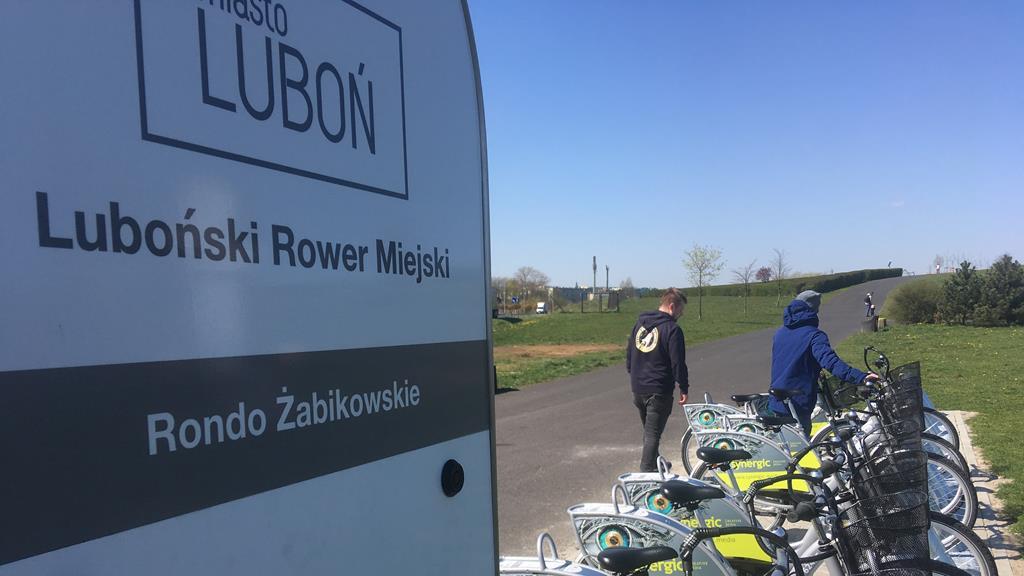 luboń rowery miejskie - Rafał Regulski