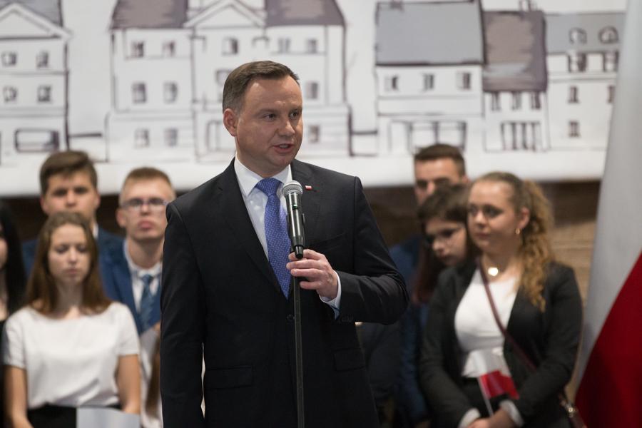 andrzej duda prezydent - Leon Bielewicz