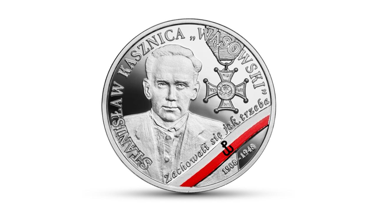 nbp stanisław kasznica wąsowski moneta  - Narodowy Bank Polski