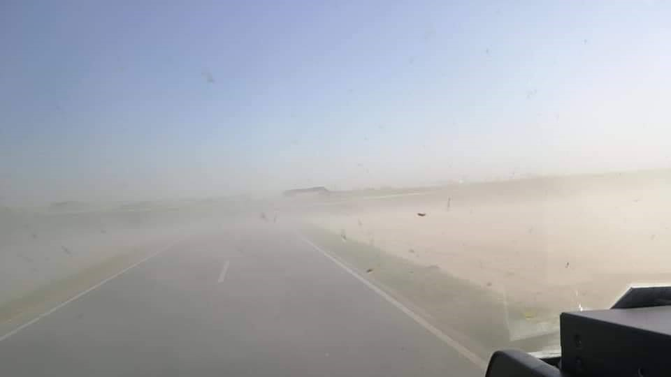 pył piasek znad sahary - FB Storm chasers Wielkopolska - łowcy burz