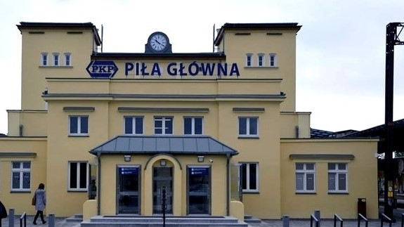 dworzec piła pkp - pila.pl