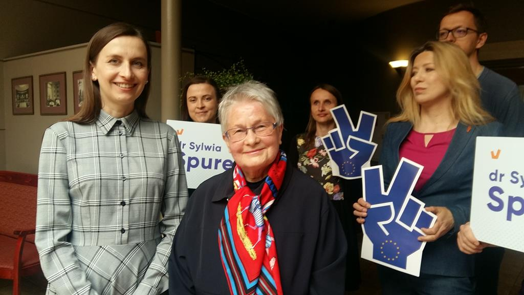 Barbara Labuda Sylwia Spurek Wiosna wybory - Magdalena Konieczna