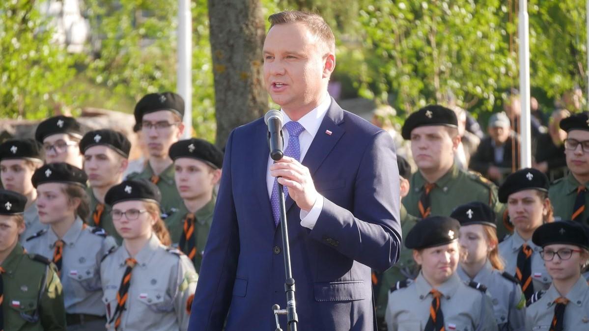 prezydent Duda w Międzychodzie  - Kacper Witt
