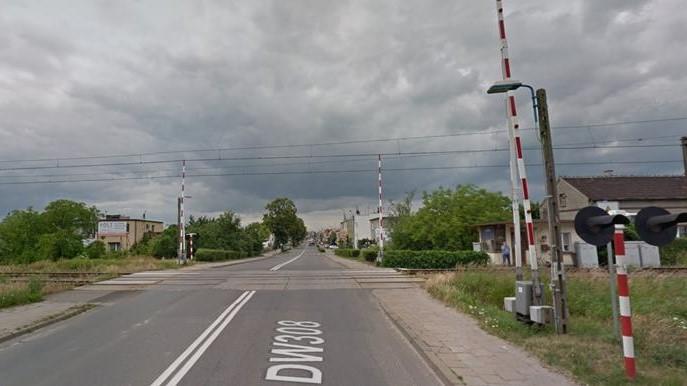 Kościan wiadukt remont przejazd kolejowy kolej budowa droga wojewódzka 308 - Google Maps