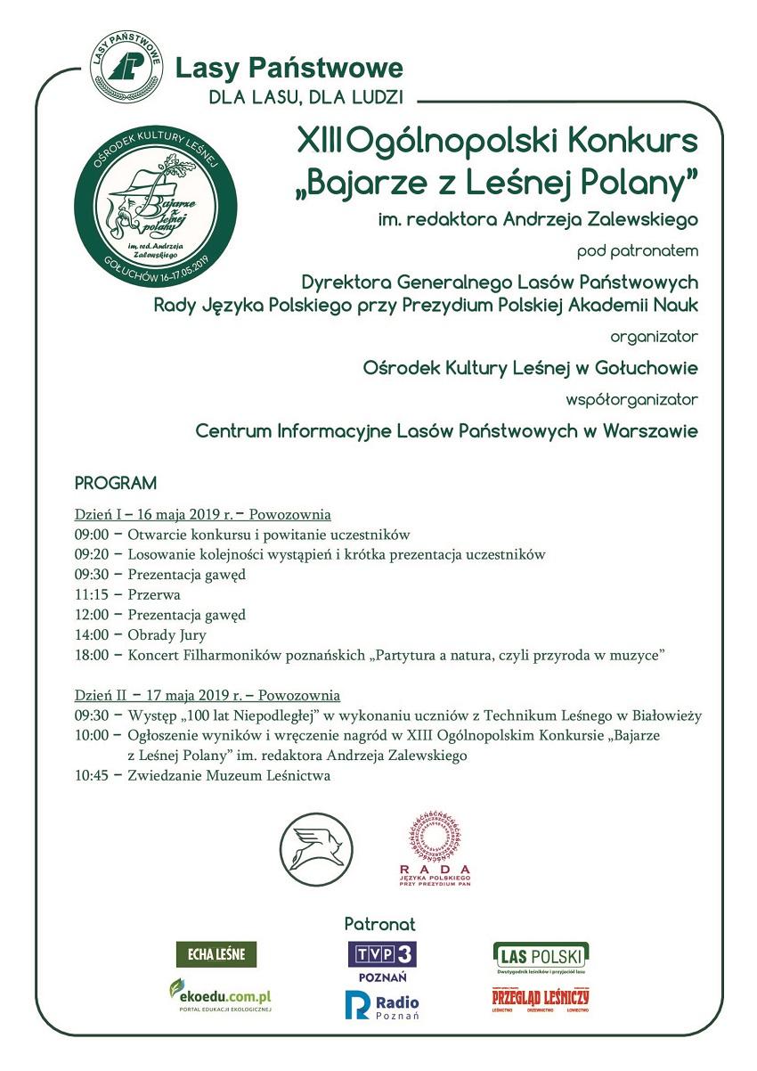 Program Bajarze z Leśnej Polany_do ogólnej wiadomości - Materiały prasowe