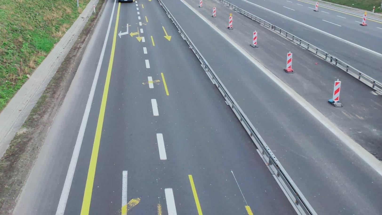 a2 zwężenie autostrada remon - Archiwum