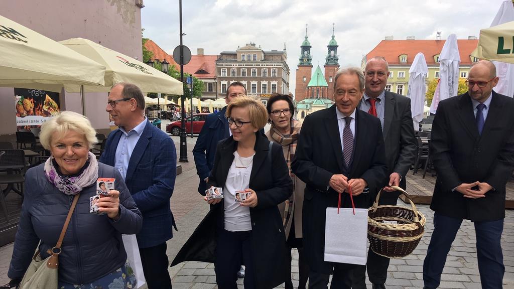 ewa kopacz gniezno wybory kampania - Rafał Muniak