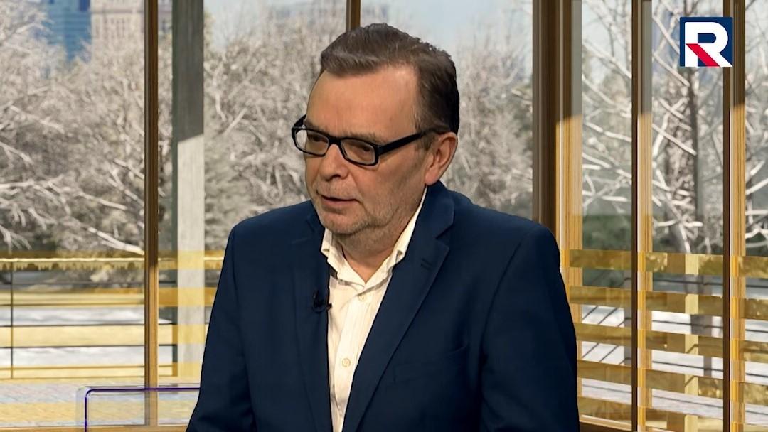piotr gajdziński - Screen: Telewizja Republika