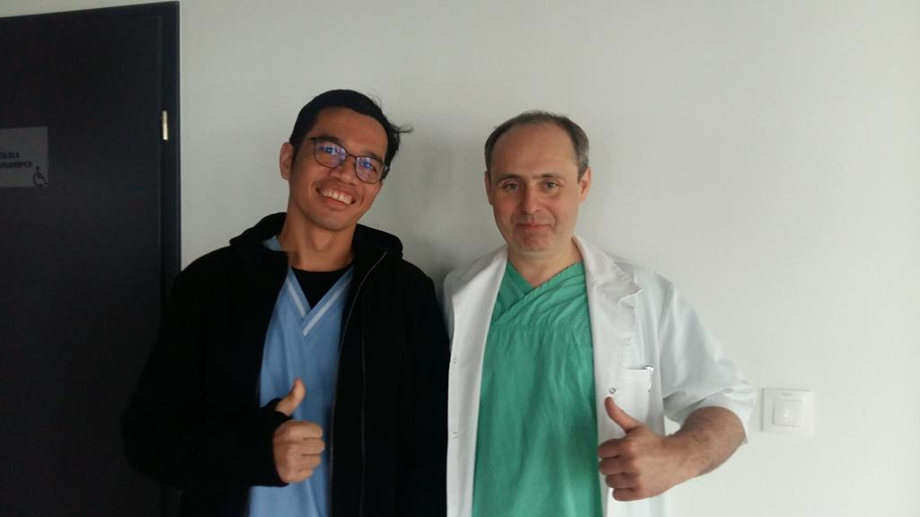 chirurg z malezji dr Mohd Hisam - Magdalena Konieczna