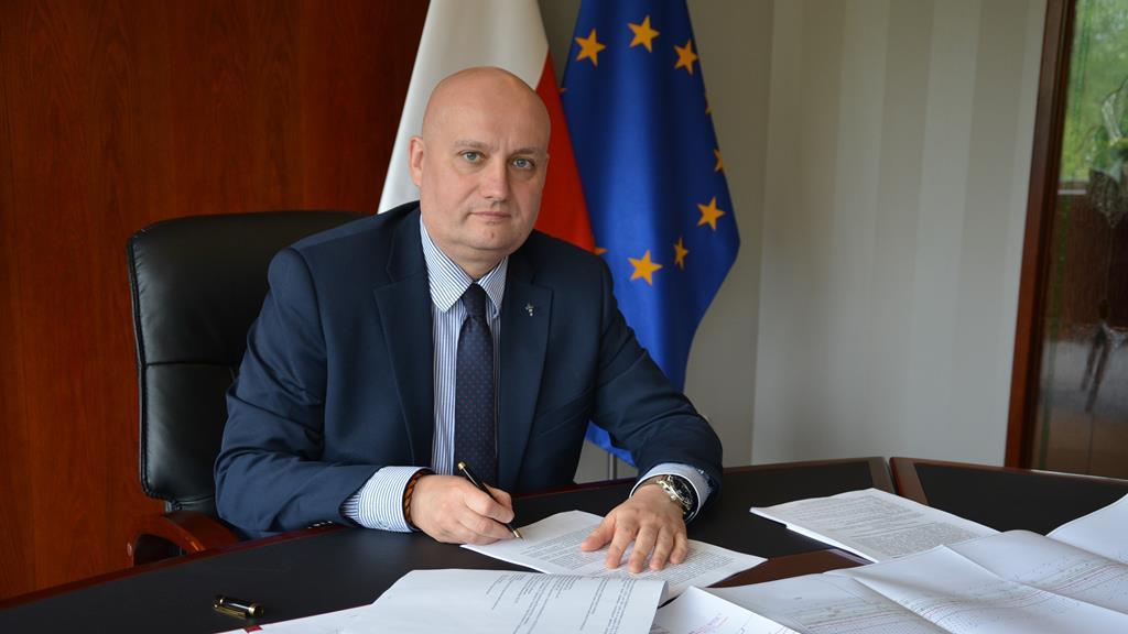 wojewoda zbigniew hoffmann baltic pipe podpis - Wielkopolski Urząd Wojewódzki