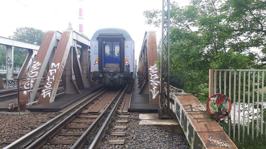 Garbary pociąg - Wojciech Sikorski