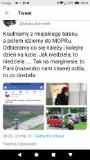 Sprawa kradzieży kwiatów leszno prezydent Leszna / FB: Łukasz Borowiak