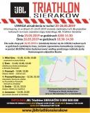 mapa triathlon sieraków / Kacper Witt