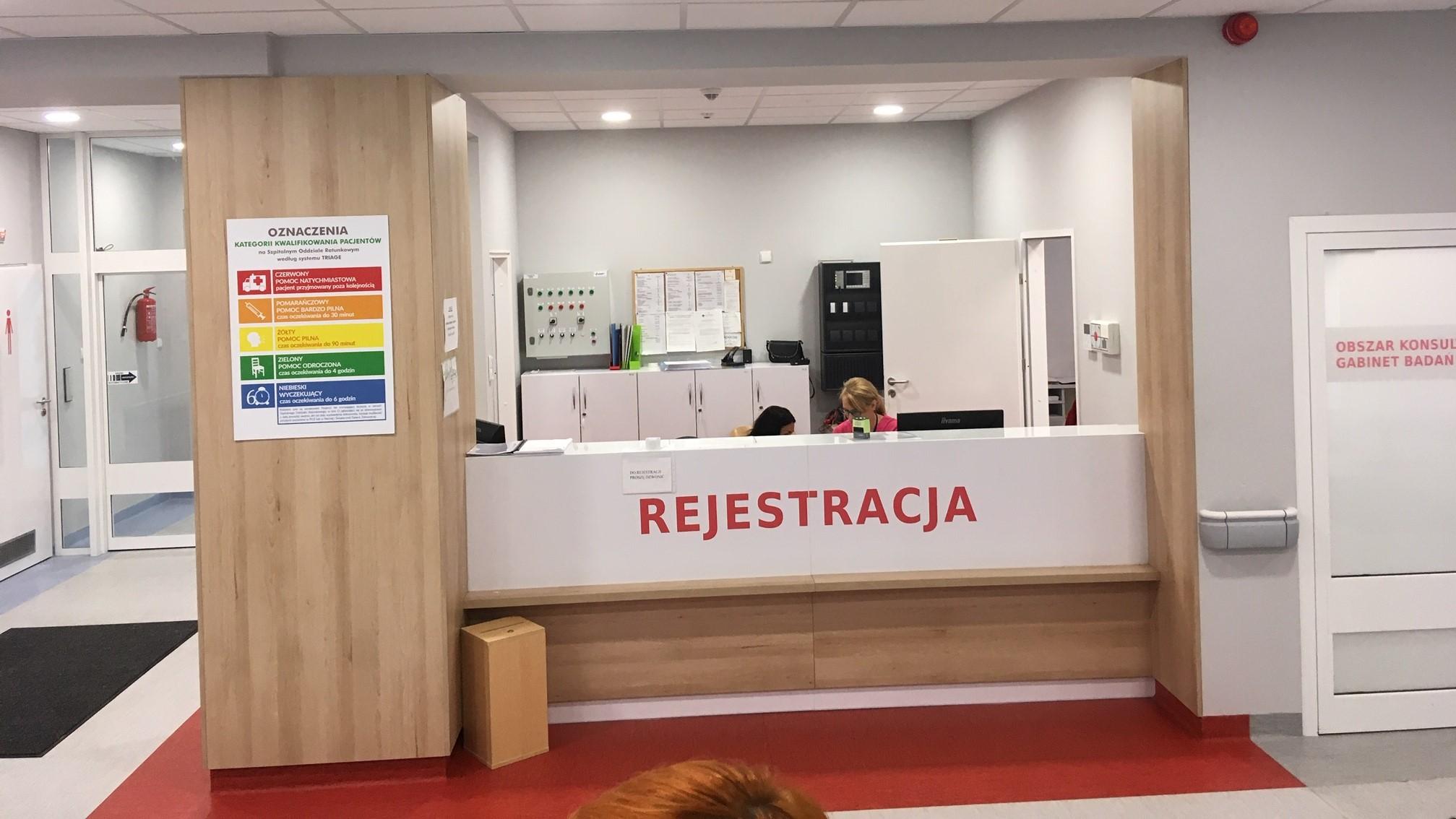 szpital odnowiony sor gniezno - Rafał Muniak