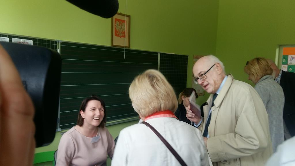 głosowanie wybory do pe zdzisław krasnodębski - Magdalena Konieczna