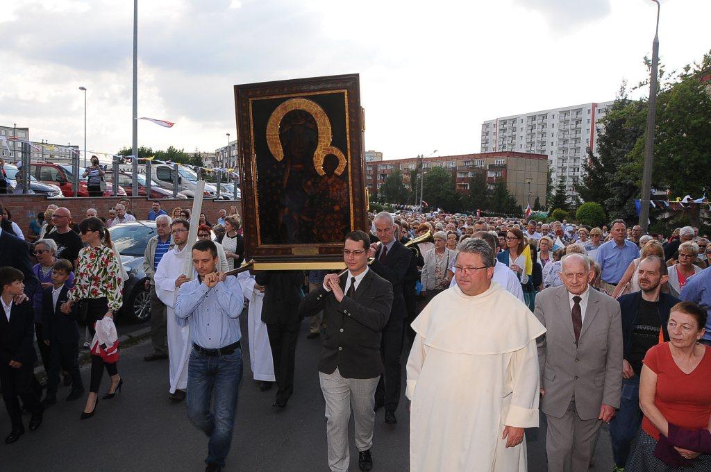 Peregrynacja kopii obrazu Matki Boskiej Jasnogórskiej - www.archpoznan.pl