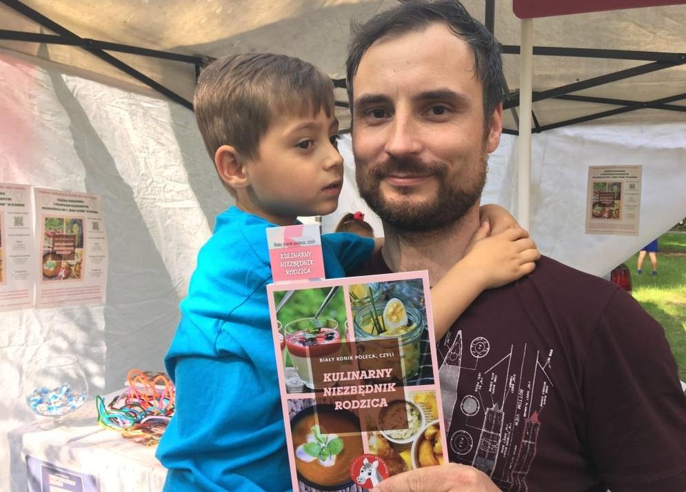 książka kucharska dla dzieci biały konik - Sławomir Zasadzki