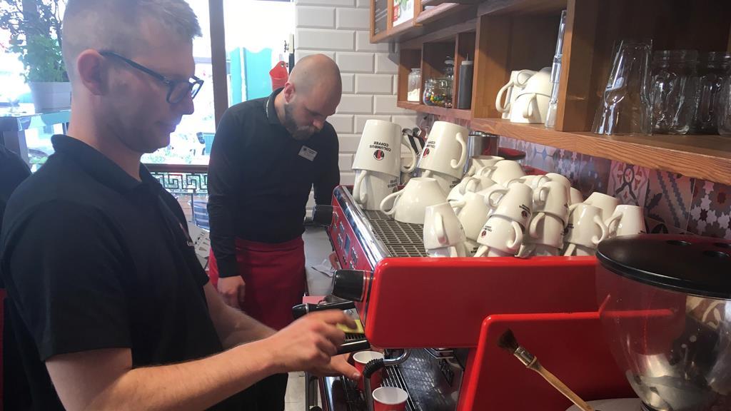 rekord guinessa parzenie kawy kalisz - Danuta Synkiewicz