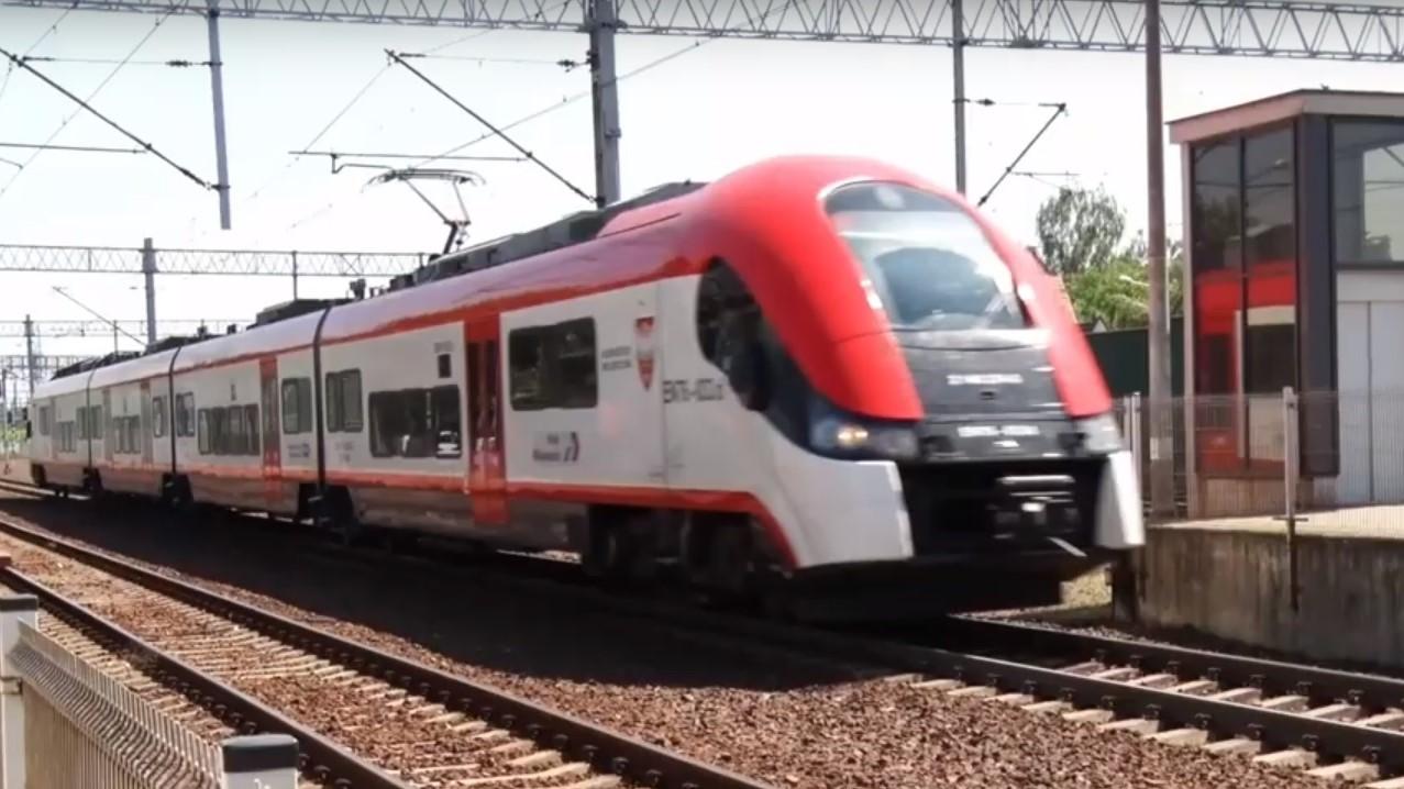 pociągi - Leon Bielewicz