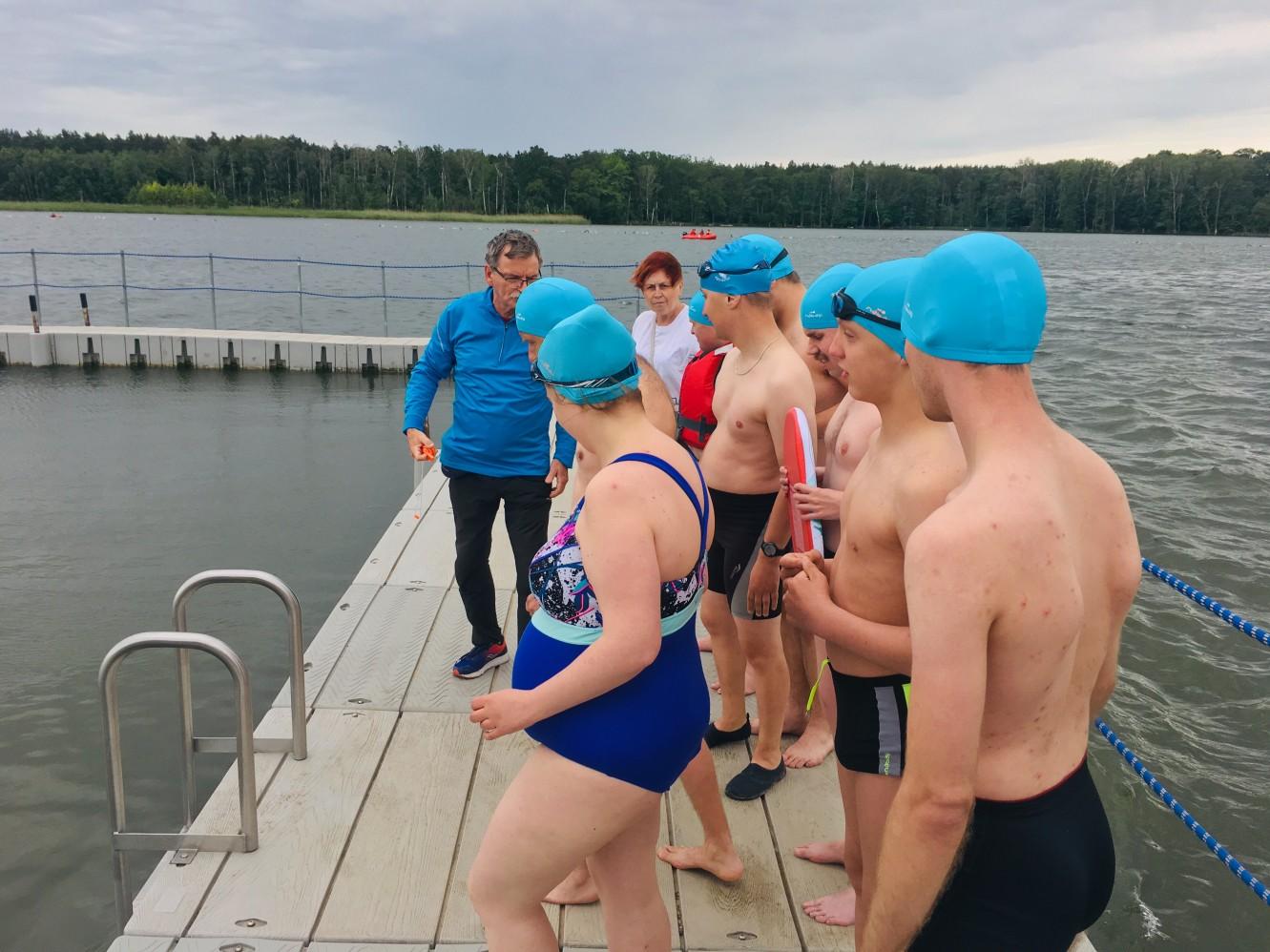 trathlon niepełnosprawni - Adam Michalkiewicz