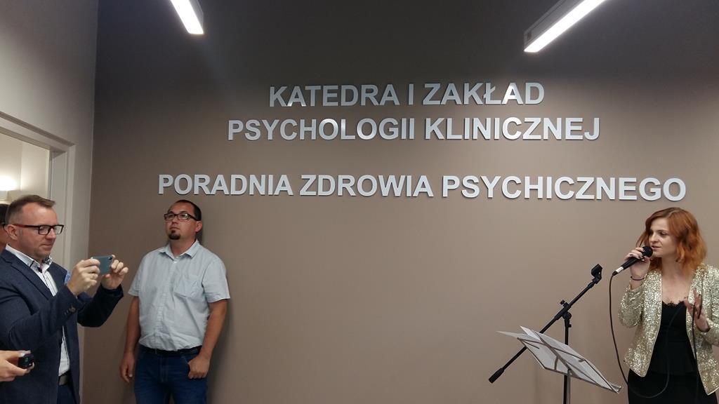 Poznański Uniwersytet Medyczny otworzył dziś w Collegium Stomatologicum Poradnię Zdrowia Psychicznego - Magdalena Konieczna