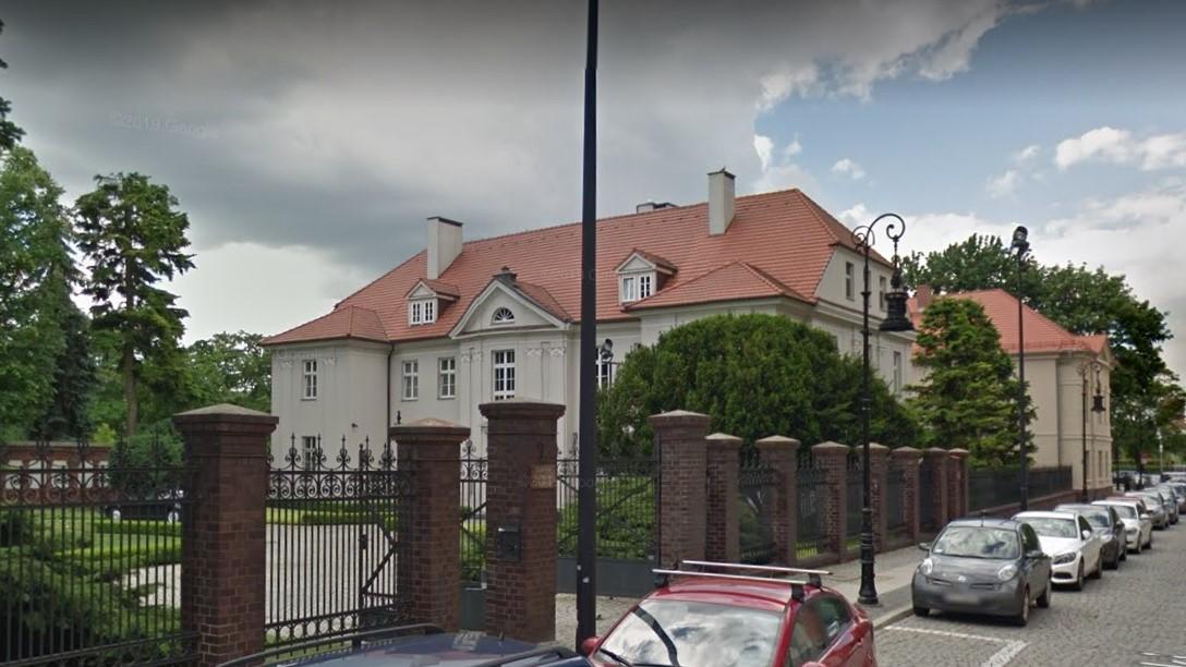Kuria Poznań - Google street view
