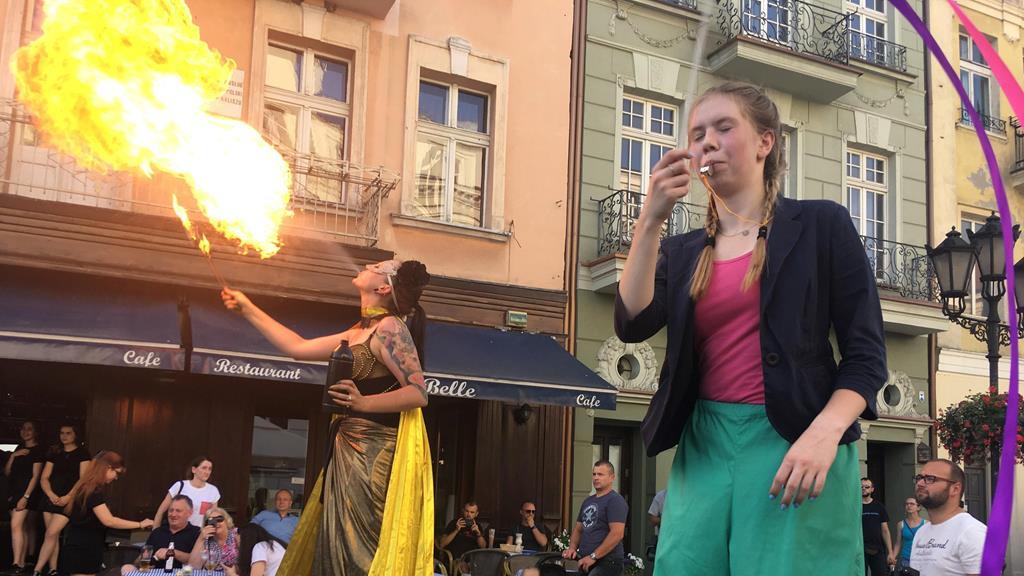 la strada kalisz festiwal Międzynarodowy Festiwal Artystycznych Działań Ulicznych - Danuta Synkiewicz