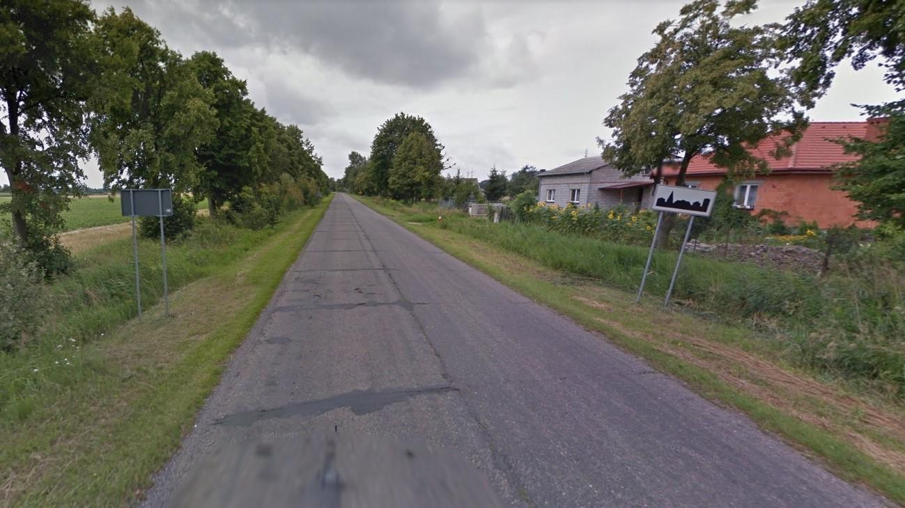 droga sieraków wypadek - Google Maps