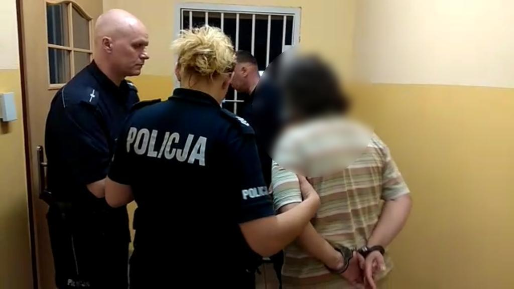 zatrzymana areszt policja - Wielkopolska Policja